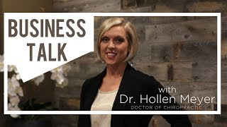 """Your PEACOCK is Showing!"" - Business Talk w/Dr. Hollen Meyer - Ep 8"