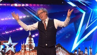 Dr. Dance throws some SERIOUS shapes! | Auditions | BGT 2019
