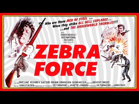 Zebra Force (1976) Trailer - Color / 2:44 mins