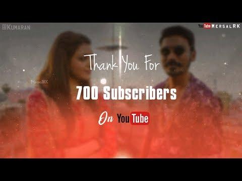 Tamil WhatsApp Status Lyrics | Maari | Donu Donu | Thank U 700 Subscriber | MersalRK