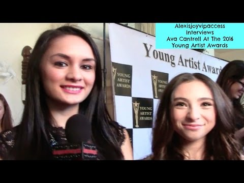 Lights Out's Teen Diana - Ava Cantrell Interview - Alexisjoyvipaccess - Young Artist Awards