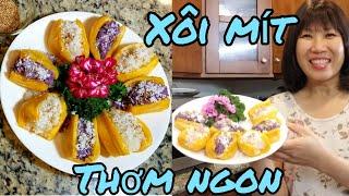 Cách làm xôi mít thơm ngon của người Việt ở Mỹ