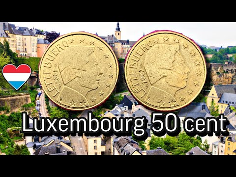 RARE 50 cent 2007 2008 Luxembourg - $?