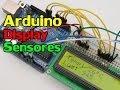 Arduino com Display LCD, Sensor de Temperatura e Sensor de Luminosidade