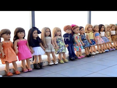 All My American Girl Dolls!