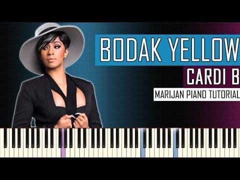 How To Play: Cardi B - Bodak Yellow |...