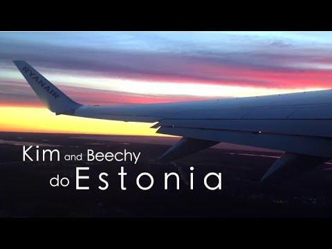Kim and Beechy do Estonia!