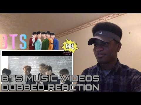 If Bts Music Videos Were Dubbed [boy In Luv] Reaction
