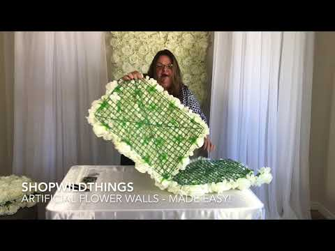 ShopWildThings Flower Walls Made Easy