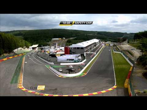 Spa-Francorchamps - Rennen 1 - Renault Clio Cup Central Europe 2015