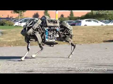 Boston Dynamic's Robotic Horse is a scary version of future robots