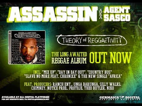10. J-O-B (Skit) - Assasin aka Agent Sasco [Theory of Reggaetivity Album 2016]