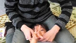 子育て講座・のびのび教室 歯磨き指導・染め出し.
