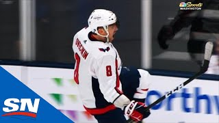 Capitals' Alex Ovechkin Scores 690th Goal Of Career Tying Mario Lemieux