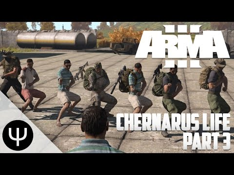 ARMA 3: Chernarus Life Mod — Part 3 — LewLew Airlines!