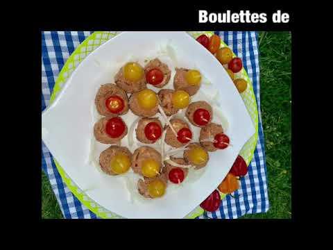 boulettes-de-poulet-grillé-pilé