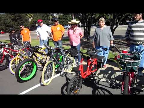 San Diego Kilowatt Hour E-bike Ride---Mission Bay