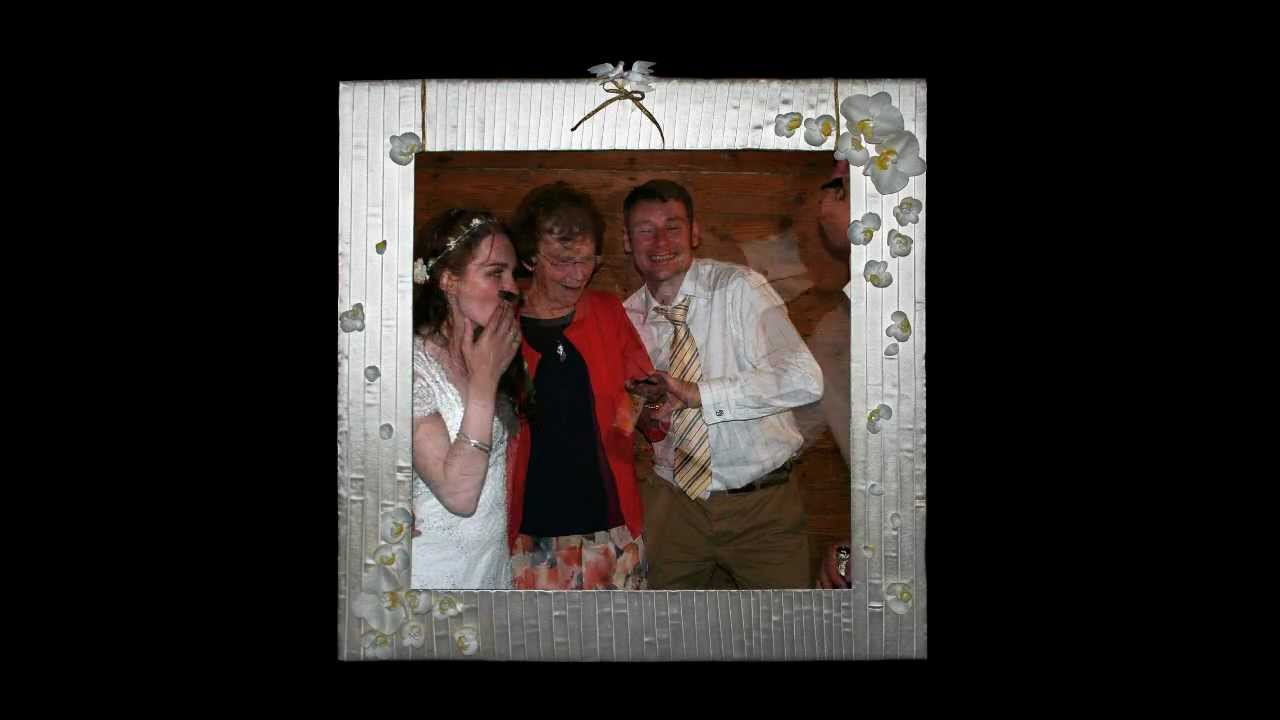 Katy and Rex Wedding Picture Frame Photos - YouTube