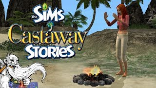 CHAPTER 1: ALMOST PARADISE!!! - The Sims Castaway Stories Gameplay
