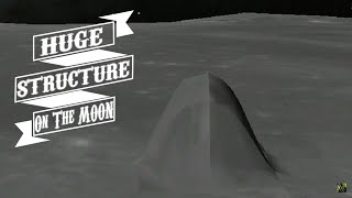 HUGE Structure Found On The Moon In Google Earth