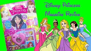 Disney Princess Magazine Review - Story Time, Colouring, Play Time, Activity - Educational for kids