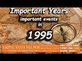 Important events of 1995 | Kerala PSC Coaching Class Malayalam#