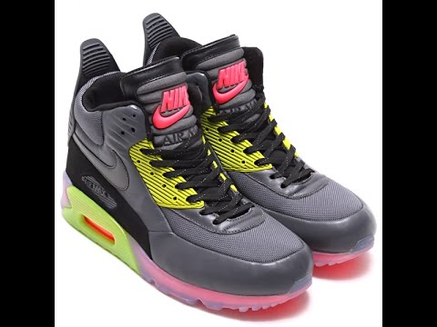 Supplier Nike Air Max 90 SneakerBoot Ice Dark Grey Fierce