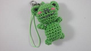 Crochet A Mini Amigurumi Frog Keychain - Diy Crafts - Guidecentral