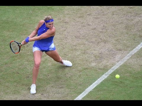Download Youtube: 2017 Aegon Classic Quarterfinals | Petra Kvitova vs Kristina Mladenovic | WTA Highlights