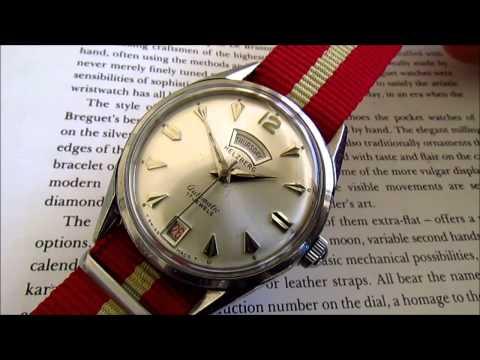 Helzberg 17 jewels automatic vintage wrist watch