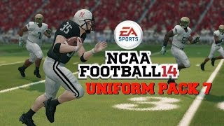 NCAA Football 14: Uniform Pack 7 Available Now!