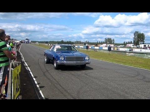 Niko Lindström&39;s 1974 Chevrolet chevelle 14 mile
