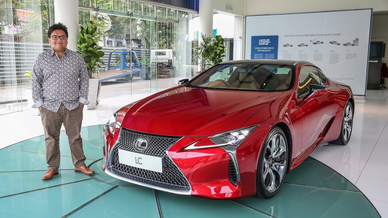 First Look Lexus Lc500 In Malaysia Rm940k Youtube