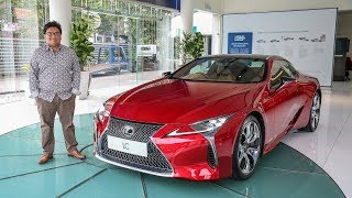 FIRST LOOK: Lexus LC500 in Malaysia – RM940k