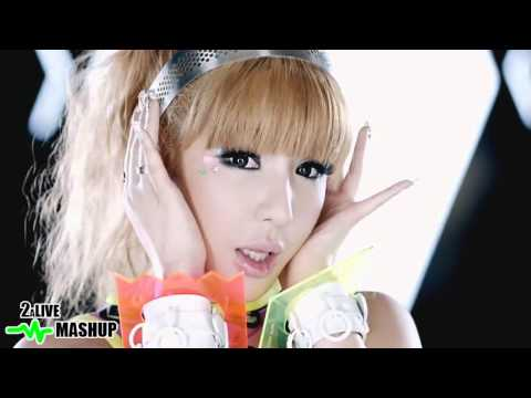THE BOYS ARE THE BEST -  SNSD The Boys + 2NE1 I Am The Best Mashup
