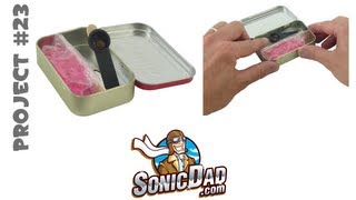 Altoids Tin Catapult  - Sonicdad Project #23