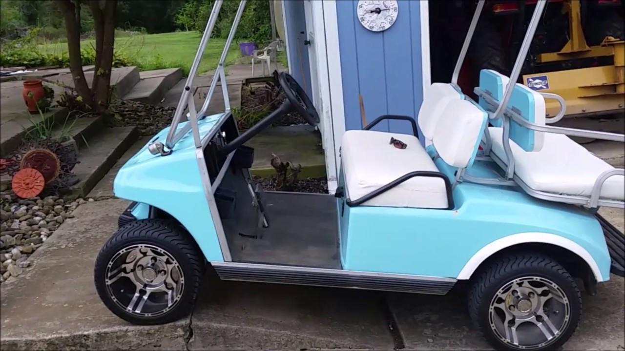 Club Car Golf Cart Brakes Broken Youtube 1990 Battery Wiring Diagram 36 Volt