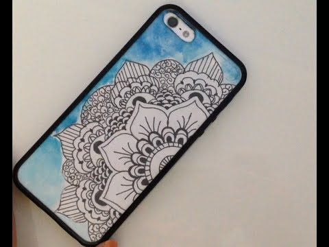Quick N Easy Mandala Phone Cover Diy Youtube