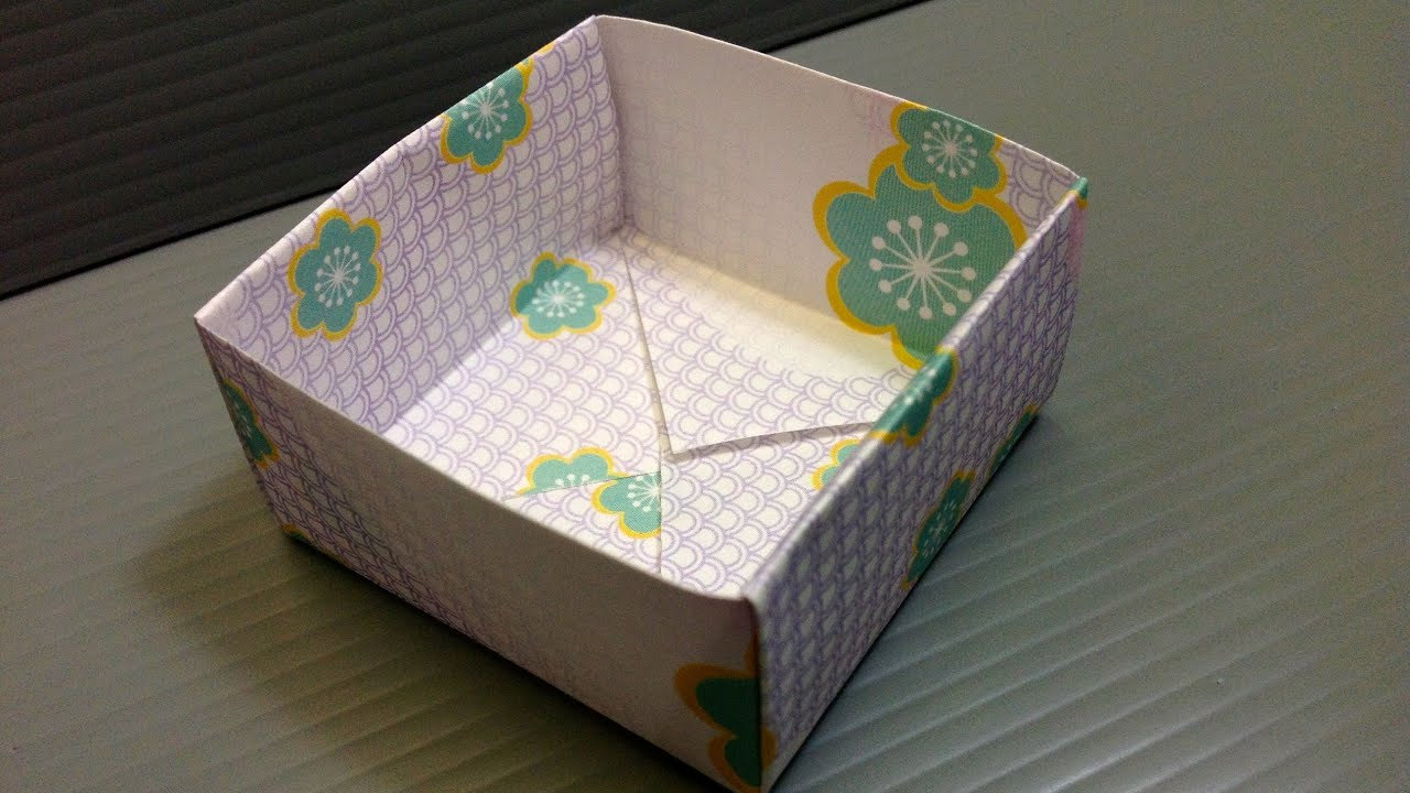 free origami paper - print your own  - flower yuzen
