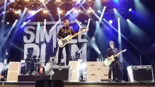"Simple Plan, ""Singing In The Rain"" - live in Gröna Lund, Stockholm, 26-05-2016"