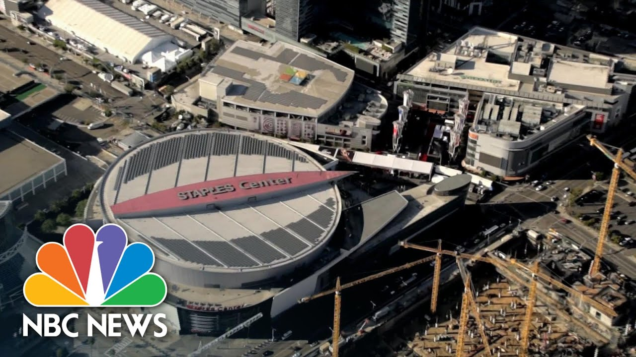 Sports Venues Converted Into Polling Places For Election | NBC Nightly News - download from YouTube for free