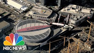 Sports Venues Converted Into Polling Places For Election | NBC Nightly News