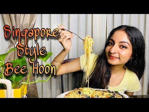 Yummy Singapore Bee Hoon   Ishaani Krishna.