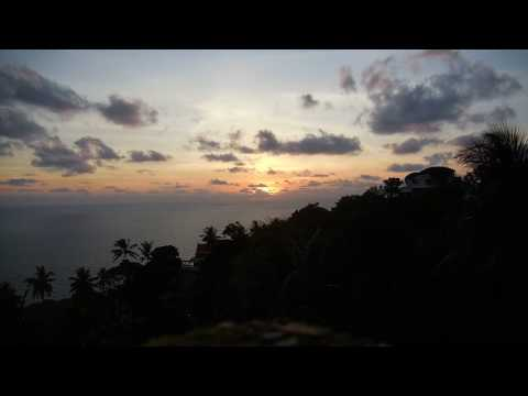 Huge Sunrise from Koh Samui, Thayland.. with Surprise