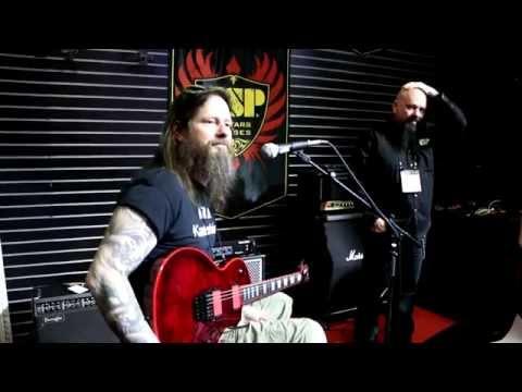 NAMM 2015 - GARY HOLT (Slayer | Exodus) - ESP GUITAR COMPANY