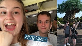 Travel Day and Animal Kingdom - Sam and Jody Florida Vlogs - Part One