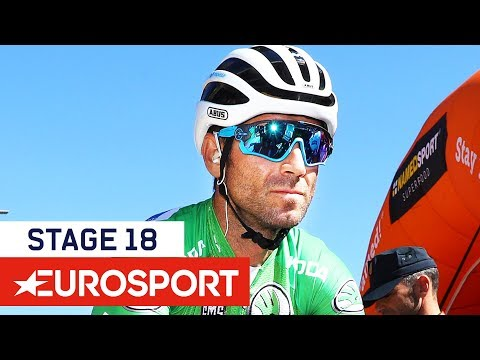 Wallays Secures Dramatic Win, Yates Maintains Lead | Vuelta a España 2018 | Stage 18 Highlights