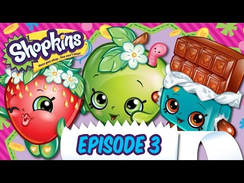 "Shopkins Cartoon - Episode 3 ""Loud and Unclear"""