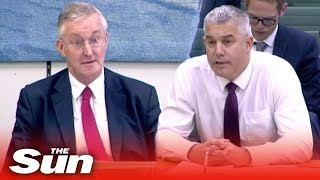 Hilary Benn accused of bias at Stephen Barclay hearing