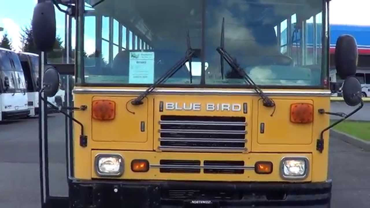 Colorful 2002 Bluebird Bus Image - Electrical and Wiring Diagram ...